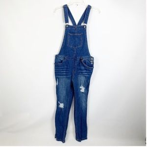 Love Tree Denim | Distressed | Overalls